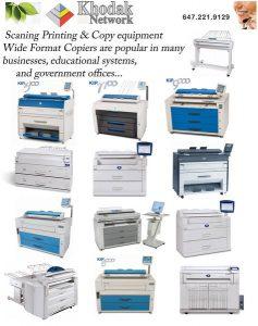 xerographic technology KIP Kyosera Mita Xerox Seiko Ricoh